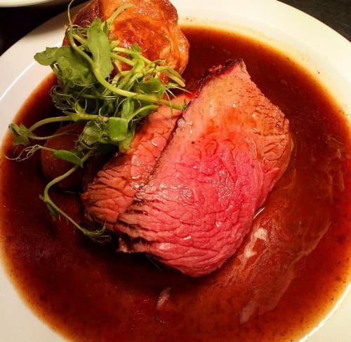 Roast beef yorkshire