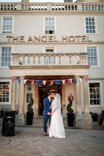 Wedding Reception in The Best Western Angel Hotel, Chippenham